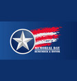 memorial day background national american holiday vector image vector image