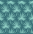 tropical leaves seamless pattern modern foliage vector image vector image