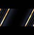 banner web design abstract glowing gold metallic vector image vector image