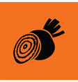 Beetroot icon vector image vector image