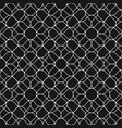 mesh seamless lace fishnet wavy lines pattern vector image