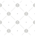Baroque damask seamless background vector image vector image