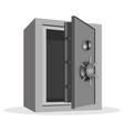 empty safe vector image vector image