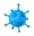 influenza virus icon vector image