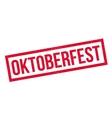 Oktoberfest rubber stamp vector image