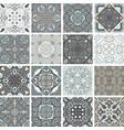 traditional ornate portuguese decorative tiles vector image