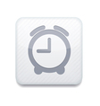 white clock icon Eps10 Easy to edit vector image vector image