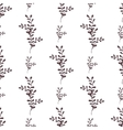 seamless floral pattern with spring vector image