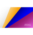 abstract background gradient lines design vector image vector image
