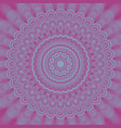 abstract psychedelic mandala fractal background vector image vector image