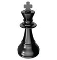 Chess king vector image