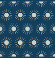 dots seamless pattern background blue sun vector image vector image
