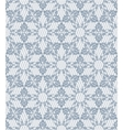Gray lace pattern vector image vector image