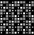 simple seamless pattern of squares vector image vector image