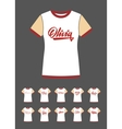 T-Shirt design with the personal name Olivia vector image vector image