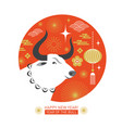 year ox vector image