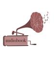 audiobook vector image vector image