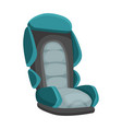 bacar seat cartoon flat style safety baseat vector image vector image