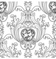 baroque diamond jewelry seamless pattern luxury vector image vector image