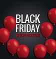 black friday special discount vector image