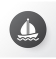 boat icon symbol premium quality isolated sail vector image vector image