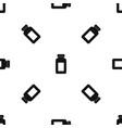 medicine jar pattern seamless black vector image vector image
