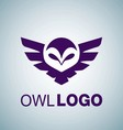 OWL LOGO 1 vector image vector image