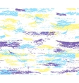 pattern colorful brush strokes vector image