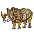 rhinoceros vector image