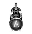 sparta warrior 0001 vector image