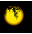 Tropic Night vector image vector image