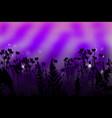 ultra violet background vector image vector image