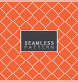 with repeating thai basketry pattern style vector image vector image