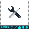 Repair icon flat vector image