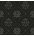 Seamless black old style pattern vector image