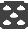 Cloud download application web iconflat design vector image