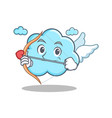 cupid cute cloud character cartoon vector image