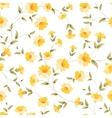 Elegant flowers fabric vector image vector image