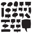 Marker Speech Bubbles vector image vector image