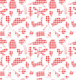 Seamless pattern drawn in a childlike style vector image