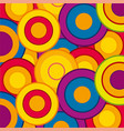 background from circle vector image vector image