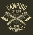 camping vintage axe adventure outdoor logo 28