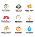 Electric Symbol Design vector image vector image