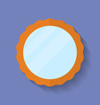Icon of Mirror Flat style vector image