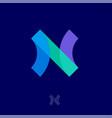 n logo abstract monogram transparent network