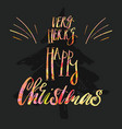have a very merry holly jolly christmas vector image