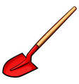 shovel color design concept vector image