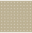 beige abstract damask pattern backdrop vector image