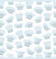 Cartoon chef white hats background pattern