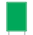 empty traffic sign board vector image vector image
